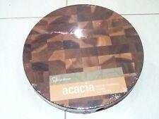Brand New Acacia Wood Chopping Board 35x4.5cm