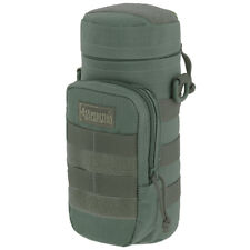 """Maxpedition 10""""X4"""" Padded Army Hydration Bottle Holder Water Molle Pouch Foliage"""