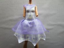 Monster High - Twyla - Haunted: Student Spirits - Outfit - Purple & White Dress