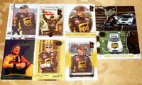 DALE JARRETT NASCAR 8 card assorted lot Including an Insert Card -4201