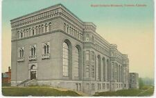 "CANADA ca. 1920 fine mint coloured pc ""Royal Ontario Museum, TORONTO"""