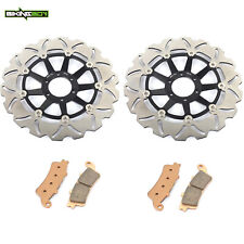 For Honda CBR1100XX Super Blackbird 1999-2003 Front Rear Brake Rotors Discs Pads