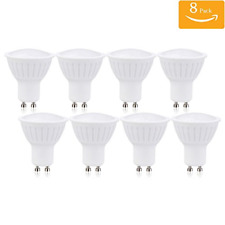 Pack of 8 Dimmable GU10 LED Light Bulb, 7W 70W Equivalent, 4000K Natural White,