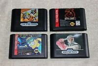 Sega Genesis Games (Shinobi, Mortal Kombat..etc)