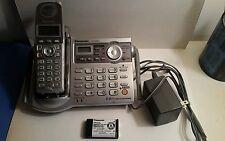 Panasonic KX-TG5671S 5.8 GHz Single Line Cordless Phone For Parts