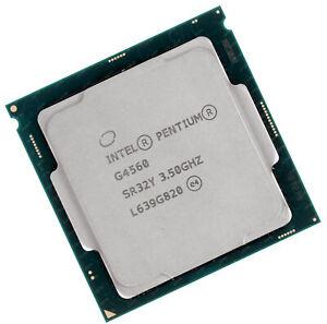 Intel Pentium Processeur G4560 CPU 2x 3.50GHz 3MB L3 Cachette SR32Y Vrac CPU-35