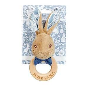 Peter Rabbit Wooden Ring Rattle