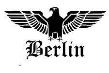 Reichsadler Berlin Auto Aufkleber Sticker Schrift Adler Deutschland Fun shocker
