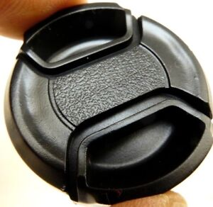 37mm Black Front Cap snap on type for Sony Handicam Camcorder