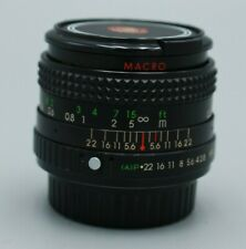 Minolta MC 28mm 2.8 CPC Auto Macro Lens
