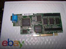 IBM/Matrox 728-02 VGA 8MB AGP Video Card 01K4340 MIL2A/8 /IB2