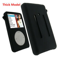 THICK Model Black Silicone Skin Cover Case for iPod Video 5th 5.5th 80GB Classic