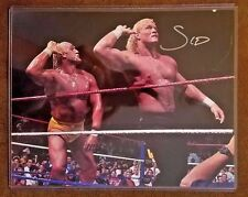 2015 LEAF Wrestling PSYCHO SID VICIOUS Autographed 8x10 Photograph Signed Hogan