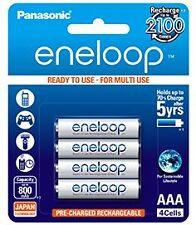 Panasonic BK-4MCCE/4BN Eneloop AAA 800 mAh Rechargeable Battery(Pack of 4)