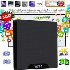 W95 ANDROID SMART TV BOX S905W Quad Core 1GB+8GB 4K*2K H.265 2.4G WIFI HDR