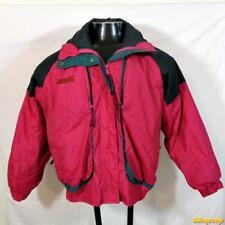 COLUMBIA 3 in 1 Powder Key Insulated Nylon Ski Jacket Womens Size M Red/Black