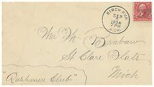 1904 Birch Run, MI. Detroit and Algonac Steamboat