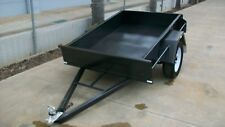 """6x4 L/D 12""""Sides Smooth Floor Trailers"""