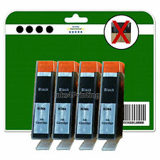 4 Negro non-chipped Compatible Cartuchos De Tinta Para Hp C309 c309g c309h 364 Xl
