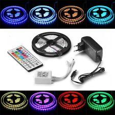 1m-30m LED RGB 5050 SMD Leiste Strip Streifen Lichterkette + Controller Netzteil