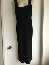 Dolce & Gabbana Black Dress  Size 46 .Made in Italy.