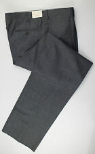 "New. BRIONI Cannes Gray Check Wool Dress Pants Size 54/38 R Waist 37.5"" $595"