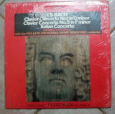 VANGUARD EVERYMAN CLASSICS, J S BACH Clavier Concerto No 1, No. 5, KATZ, LP