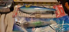 Deep Sea Fishing Lures, Tuna Wahoo Marlin Billfish Big Game Fish Trolling Lures