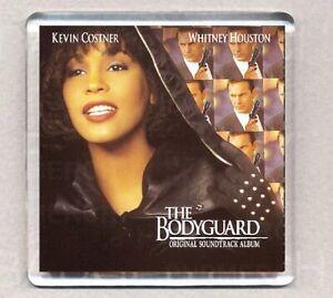 THE BODYGUARD ALBUM COVER FRIDGE MAGNET 08 Acrylic 2.6inch (64mm) square
