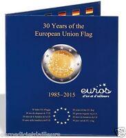 Album PRESSO pour 2 euros - 30ème anniversaire du drapeau européen - LEUCHTTURM