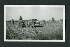 Vintage Photo Man Pet Dog & Hunting Shotgun 1937 OLDSMOBILE F37 Coupe Car 438090