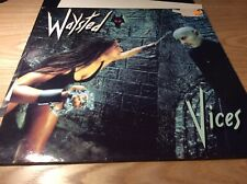 Waysted ‎– Vices - Chrysalis CHR 1438 1983 + Poster UK - Played - VG+