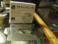 5 NEW MAUDLIN PRODUCTS MSB100-5 SLOTTED SHIM B-3x3 Inx0.100In