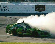 CHASE ELLIOTT signed NASCAR 8X10 BURNOUT photo with COA C
