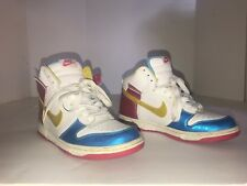 Nike Youth/Womans Dunks Olympic Game Shoes Colorful High 7Y or Womans 8 1/2 - 9