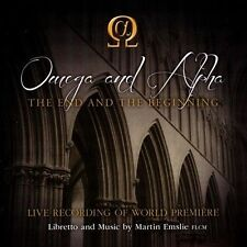 Martin Emslie: Omega and Alpha - The End and the Beginning (CD, Oct-2013, 2...