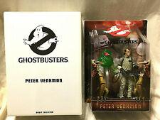 "6"" Slimed Peter Venkman W/ Slimer Ghostbusters Figure Rare Mattel"