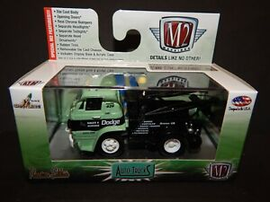 1966 Dodge L600 Tow Truck Wrecker Green & Black M2 Machines Spring Blowout MIP