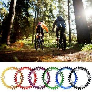 MTB Bike Bicycle 32T 34T 36T 38T Narrow-Wide Round Ring Plate Crankset U1Q9