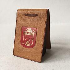 Vintage Mini Leather Photo Album Souvenir Mountain Bjelasnica B. & Herzegovina