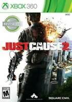 Just Cause 2 (Microsoft Xbox 360, 2010) Brand New Factory Sealed Video Game Xbox