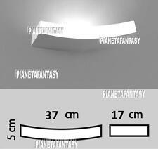 Applique da Muro Porta Faretto in Gesso Ceramico Verniciabile x Lampada E14