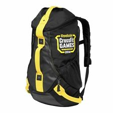 New REEBOK Crossfit 2014 Games - S13879 Black Yellow Backpack Duffle Bag