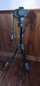 Manfrotto Compact Action Tripod  with Joystick Head - Black