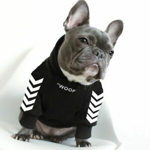 Hoodie Winter Pets Dogs Clothes Coat Jacket Cotton Ropa Perro French Bulldog,New