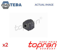 2x TOPRAN FRONT ANTI-ROLL BAR STABILISER BUSH KIT 501 793 I NEW OE REPLACEMENT