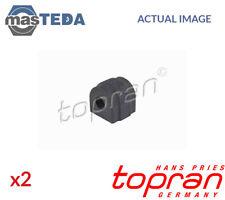 2x TOPRAN FRONT ANTI-ROLL BAR STABILISER BUSH KIT 501 793 I NEW OE REPLACEMENT