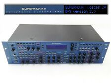 Vintage Synthesizer NOVATION SUPERNOVA II RACK 24 voic. OS 2 RETRO SYNTH VOCODER