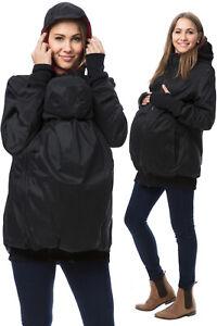 ✅ GoFuture 4in1 Mama und Baby Tragejacke Umstandsjacke Shell + Fleece  gr.XL
