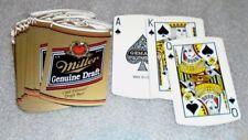 die cut beer can deck of playing cards advertising Miller Genuine Draft